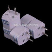 asia power converter - UK US AU Asia Universal to EU AC Power Plug Travel Adapter Power Plug Converter