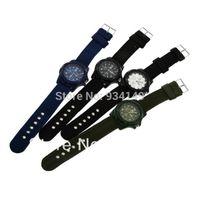 auto ems - DHL EMS hot sales fashion men women ladies Quartz Military resin Wrist Watch