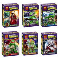 naruto - Action Figures Minifigures styles a set suit with arms skateboard Mirage Teenage Mutant Ninja Turtles