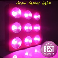 best reflector - 2016 COB W led grow light with reflectors for green house best led grow lamp
