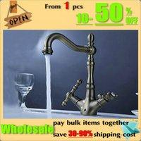 Wholesale Antique Finish Kitchen Sink Bathroom basin Faucet mixer tap AB