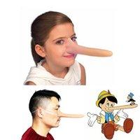 Wholesale quot Long Nose Pinocchio Long Puppet Costume Latex Nose Fancy Dress
