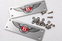Wholesale 2015 NEW car styling decoration accessories BENTLEY emblem Car floor mat badge set for BENTLEY series