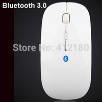 Wholesale Super Thin DPI Bluetooth wireless mouse mice for Tablets Desktops TV Box Smart Phones