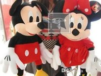 minnie mouse plush - Mini Lovely Mickey Mouse And Minnie Mouse Stuffed Animals Plush Toys For Children s Best Gift