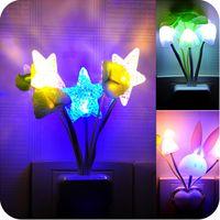 avatar christmas lights - Avatar electric induction dream mushroom Fungus Lamp LED table lamp mushroom lamp Energy saving Light Freeshipping CYA3