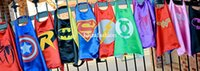 Wholesale Superhero Cape Superman Batman Spiderman Teenage Mutant Ninja Turtle Flash Supergirl Batgirl Robin kids capes styles DHL