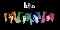beatles towel - 2016 New cmx69cm Cotton the beatles band Printed Large Shower Towel Camping Towel Fast Drying