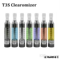 kanger t3s - Promised quality t3s clearomizers E Cigarette ml Kanger t3s atomizers with t3s coils for vision spinner evod e cigarette starter kits