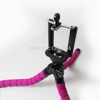 Wholesale Mini Professional Flexible Octopus Tripod Mount Holder with cellphone clips suit for digital camera smart phone