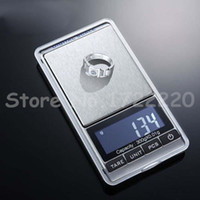 Wholesale 50 pieces g x g g g Mini Pocket Jewelry Electronic Protable Digital Scale