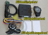 Cheap Push Button start system with RFID real watch ,rfid transponder card or watch immobilizer or release engine automaticaly, car