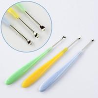 Wholesale 3Pcs Earpick Spoon Tool Clean Ear Wax Curette Remover Ear pick Ear Spoon Ear Scoop A374 A5