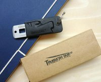Wholesale TIMBERLINE in1 Card knife Multi purpose outdoor Survival Tools with K sheath