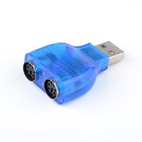 Wholesale adapter dongle computer accessories To use your PS Keyboard Mouse on a USB port hot