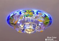 Wholesale New Arrival W LED Crystal LED downlight Chandelier passageway light