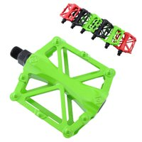 Wholesale New A Pair Sports Fashion Cycling Mountain Bike Bicycle Bearing Alloy Flat Platform Pedals Aluminum