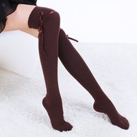 acrylic prints offers - Rushed Special Offer Solid Stockings Stocking Meia Various Colors Of Cotton Knee Socks Cute Girl