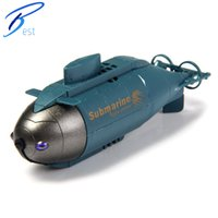 Wholesale 777 Wireless MHz Remote Control Mini RC Submarine Pigboat Model Toy For Kids Boys