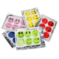 baby killers - 30000 Pack Anti Mosquito Repellent Sticker Patch Summer Smile Face Mosquito Killer for Baby Outdoor DHL