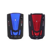 Wholesale Car anti speed Radar Detector Voice Alert Russian English Voice for Car Speed Limited Band Radar Detector