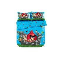 bed-in-a-bag king size - Hot Sale cotton full queen king size Cartoon set Kids Bed Quilt Cover Set bed in a bag Chiritmas party wedding gift