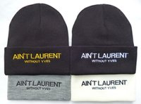 laurent - Aint laurent Many famous brand beanies knitted caps American Sports knitted hats Baseball Football Basketball Hockey Beanies hats