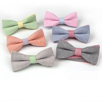 Wholesale Polyester men bow tie upscale men s fashion Korean tidal fresh neutral marriage bow tie butterfly