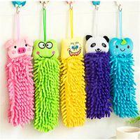 Wholesale Randomly send Original Home Accessories Cartoon Animal Microfiber Household Hand Towel Cleaning Towel CY10