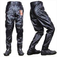 Wholesale Dunham PU pants motorcycle automobile race pants motorcycle pants ride pants high quality PU waterproof windproof thermal