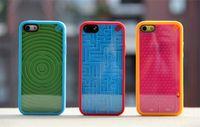 al por mayor iphone caso laberinto-Juego de laberinto venta de silicona caliente para el iphone 5 5S teléfono celular del diseño cubierta de la caja RetroStyle increíble cubierta de la caja de indecisos