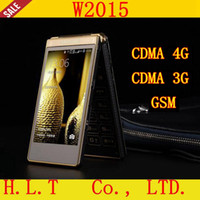 Android android clamshell - W2015 dual mode dual standby mobile phone CDMA true G smart business clamshell phone Tyrant gold geriatric cellular phone