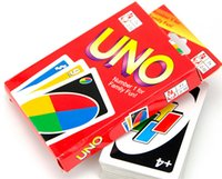 Wholesale Family Funny Entertainment Board Game UNO Fun Poker Playing Cards Puzzle Games Standard uno card