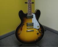 Wholesale New Beautiful hot sell Memphis E S Dot Semi Hollowbody electric guitar in stock