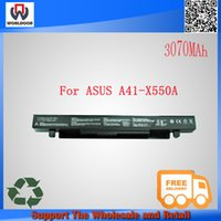 batteries for asus laptops - Hot sale New original laptop battery for Asus A41 X550 A41 X550A A450 A550 F450 F550 X551A R409 R510 X450