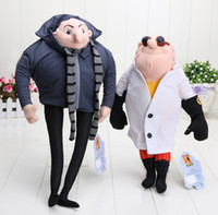 Anime & Comics animal cuddly toys - Despicable Me Plush Toy quot Gru quot Doctor Nefario Collectible Doll Rare Villain Papa Cuddly Stuffed Animal style