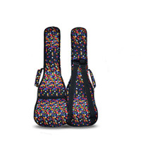 Wholesale quot quot inches soprano kala funda capa ukulele case small bass guitar bags soft gig cover backpack hawaii tenor lanikai concert