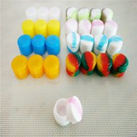 Wholesale 2 Ml Reusable Silicone Wax Box Wax Containers Silicone Jars Container Silicone Container For Wax OD ID T Mm