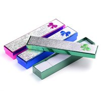 Wholesale New Arrival Necklace Packaging Gift Box Paper Jewelry Packing Boxes Case CM jewelry case necklace case boxes