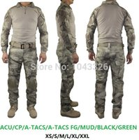 bdu pants men - BDU Tactical cargo pants with knee pads camouflage uniform clothing combat trousers suit camouflage training us army military