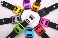 Wholesale Hot Fashion Rubber Watch Band Wrist Strap Aluminum Silicone Cover Case For iPod Nano th G