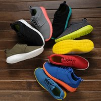 shoe factory - hot sale high quality factory price roshe running sports shoes for London Olympicrun men run colors