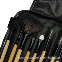 professional makeup sets - Professional Makeup Brushes make up Cosmetic Brush Set Kit Tool Roll Up Case