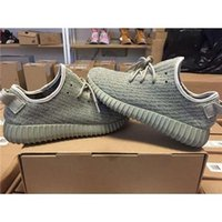 Cheap Purchase New Design Yeezy Boost 350 Moonrock Running Shoes 2015 Kanye West Yeezy Moon Rock Sport Shoes 36-46 Pirate Black & Grey Yeezy Shoes