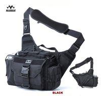 ykk waterproof zipper - Outdoor Waterproof Photography Bag Big Capacity Military Camera Alforja Army Sports Messenger Bag YKK Zipper