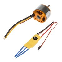 Wholesale New XXD RC KV Brushless Motor A2212 T With ESC A Brushless Motor Speed Controller For Helicopters Quadcopter