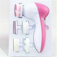 cleaner - 5 In Electric facial cleaner Face Cleansing Brush Skin Care Brush Beauty Care Massager Scrubber DHL