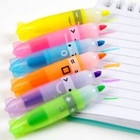 Wholesale 6 Color set M G Stationery Cute Boat Colorful Highlighter With Fragrance Marker Pen Children s Best Gifts