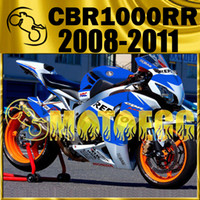 Wholesale Five Gifts Motoegg Bestselling Injection Mold Fairings For Honda CBR1000RR CBR RR Whole Set Blue White H18M513