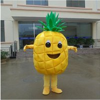 Wholesale Customized Professional pineapple Mascot Costume Festival Party Adult Sz